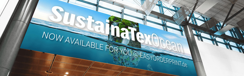 SustainaTex Ocean Banner